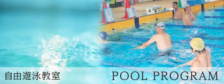 自由遊泳教室