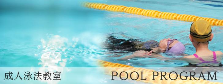 成人泳法教室
